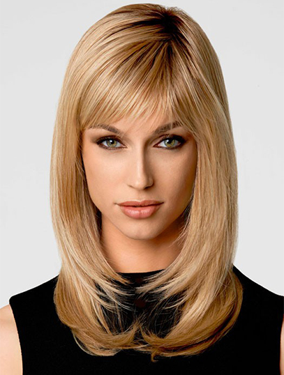 "Perruques Synthétiques 14"" Invraisemblable Blonde"
