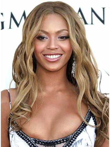 Perruques Beyoncé Elégante Blonde Longue Ondulé