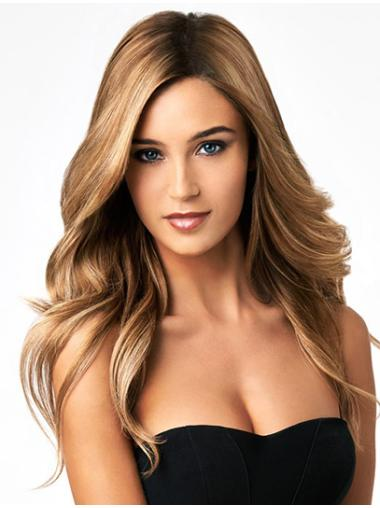 """Perruques Humaines Lace 18"""" Confortable Blonde"""