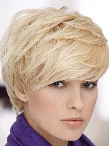 "Perruques Cheveux Humaines 6"" Meilleure Blonde"