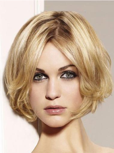 """Perruques Bob 10"""" Moderne Blonde"""