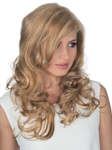 """Remy Human Perruques Lace 18"""" Propre Blonde"""