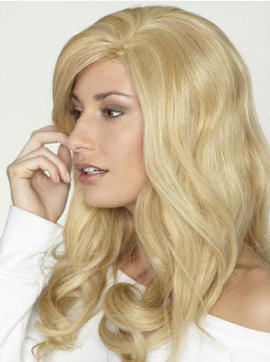 """Remy Human Perruques Lace 18"""" Invraisemblable Blonde"""