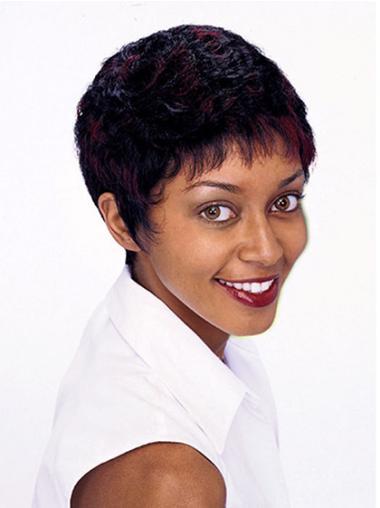 """Perruques Afro-Americaines Appropriée Auburn 6"""" Frisée"""