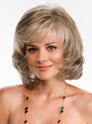 """Perruques Lace Frontale 10"""" Moderne Blonde"""