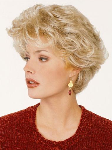 """Perruques Classiques 8"""" Haute Qualité Blonde"""
