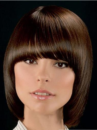 """Perruques Lace Frontale 10"""" Convenable Brune"""