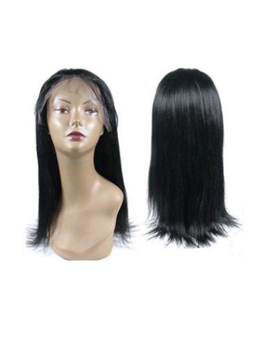 """Perruques Cheveux Humaines 14"""" Pas Cher Noir"""