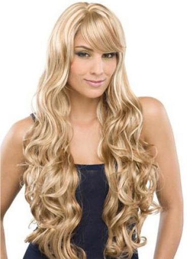 """Perruques Cheveux Humaines 24"""" Belle Blonde"""