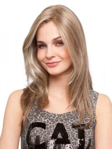 """Perruques Cheveux Humaines 16"""" Incroyable Blonde"""