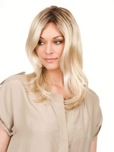 """Perruques Lace Frontale 16"""" Naturelle Blonde"""