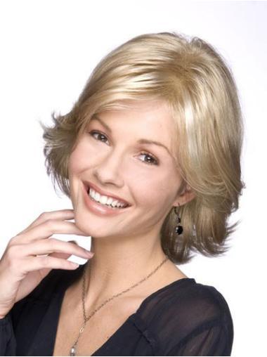 """Perruques Classiques 10"""" Réduction Blonde"""