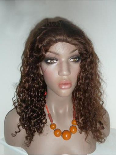 """Remy Human Perruques Lace 20"""" Convenable Brune"""