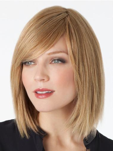 """Remy Human Perruques Lace 12"""" Belle Blonde"""