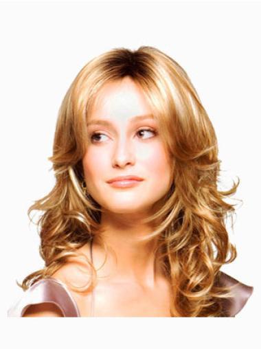 """Perruques Monofilament 18"""" Réduction Blonde"""