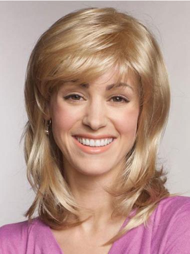 """Perruques Lace Frontale 16"""" Bonne Blonde"""