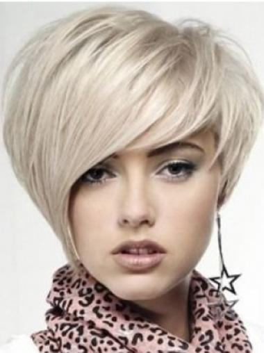 """Perruques Célébrités 10"""" Haute Qualité Blonde"""