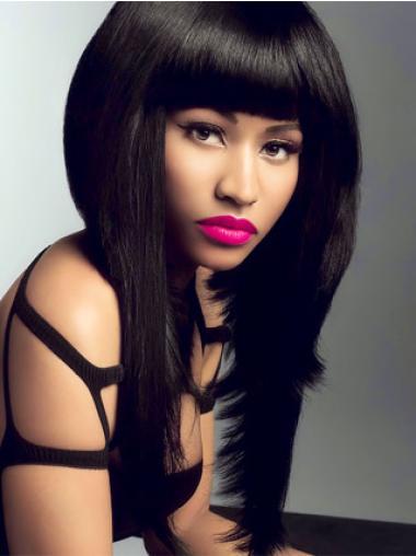 "Perruques Nicki Minaj 18"" Opportune Noir"