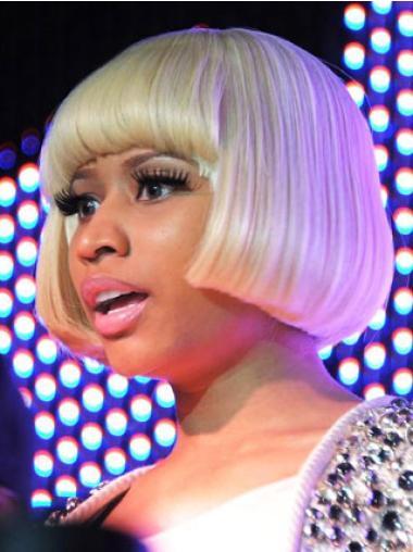 "Perruques Nicki Minaj 8"" Convenable Blonde"
