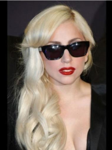 "Perruques Lady Gaga 16"" Haute Qualité Blonde"