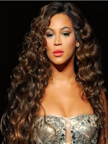 Perruques Beyoncé Belle Auburn Longue Frisée