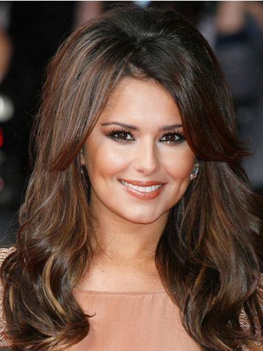 """Perruques Cheryl Cole 16"""" En Vogue Brune"""
