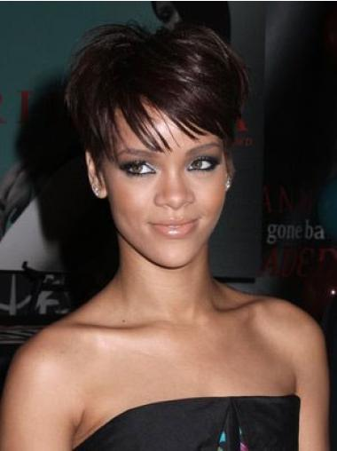 "Perruques Rihanna 6"" Soyeuse Auburn"