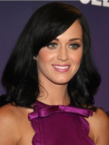 "Perruques Katy Perry 16"" Souple Noir"