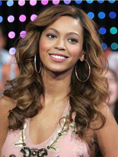 Perruques Beyoncé Fabuleux Brune Longue Ondulé