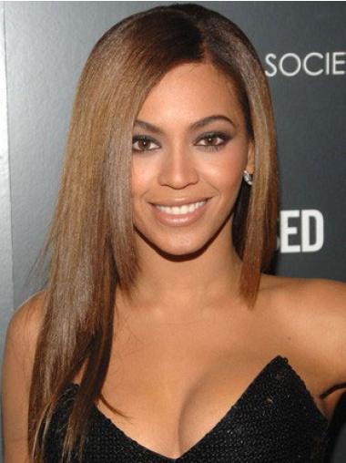 Perruques Beyoncé Souple Brune Longue Lisse