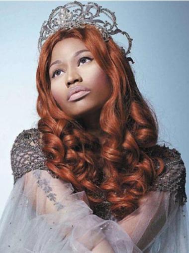 """Perruques Nicki Minaj 20"""" Appropriée Auburn"""