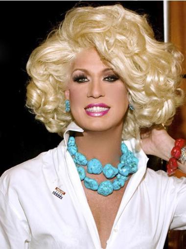 "Perruques Kim Zolciak 12"" Belle Blonde"