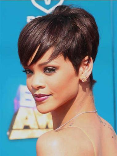 "Perruques Rihanna 6"" Merveilleuse Auburn"