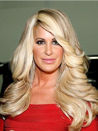 """Perruques Kim Zolciak 18"""" Bonne Blonde"""