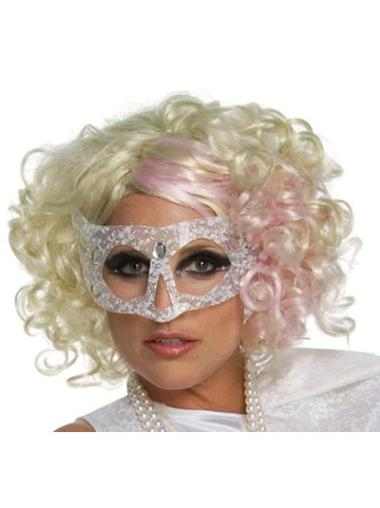 """Perruques Lady Gaga 12"""" Convenable Blonde"""