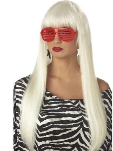 """Perruques Lady Gaga 24"""" Souple"""