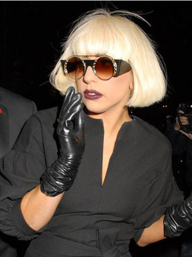"""Perruques Lady Gaga 10"""" Durable Blonde"""