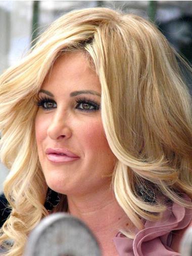 "Perruques Kim Zolciak 16"" Incroyable Blonde"