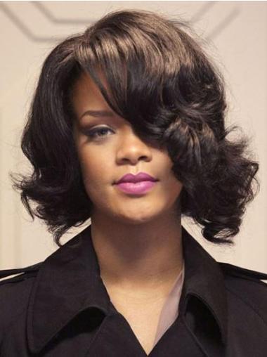 "Perruques Rihanna 12"" Incroyable Brune"