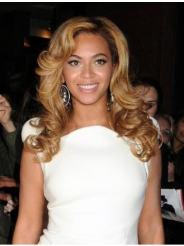 Perruques Beyoncé En Vogue Blonde Longue Ondulé