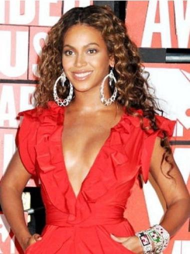 Perruques Beyoncé Haute Qualité Brune Longue Frisée
