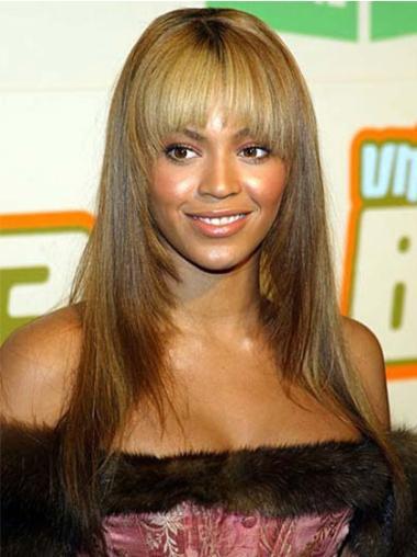 Perruques Beyoncé Meilleure Blonde Longue Lisse