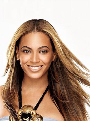 Perruques Beyoncé Excellente Brune Longue Lisse