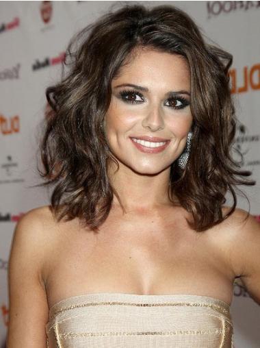 "Perruques Cheryl Cole 14"" Merveilleuse Brune"