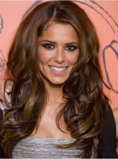 """Perruques Cheryl Cole 24"""" Nouvelle Brune"""