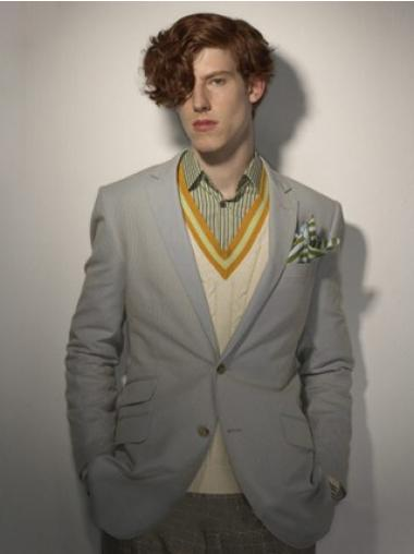 "Perruques Hommes 5"" Fashion Brune"