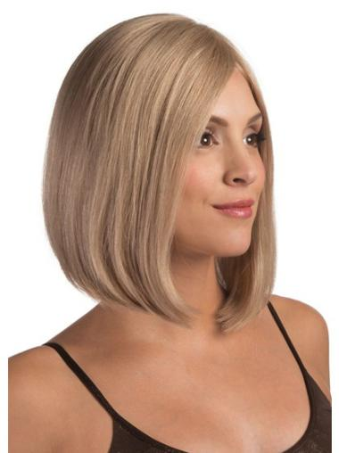 "Remy Human Perruques Lace 12"" Branchée Blonde"