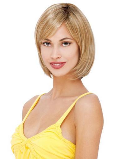 """Remy Human Perruques Lace 8"""" En Vogue Blonde"""