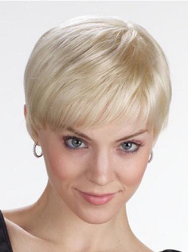 "Perruques Lace Frontale 4"" Souple Blonde"