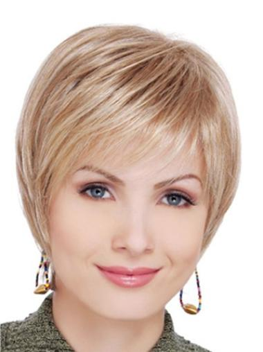 """Perruques Grises 4"""" Réduction Blonde"""